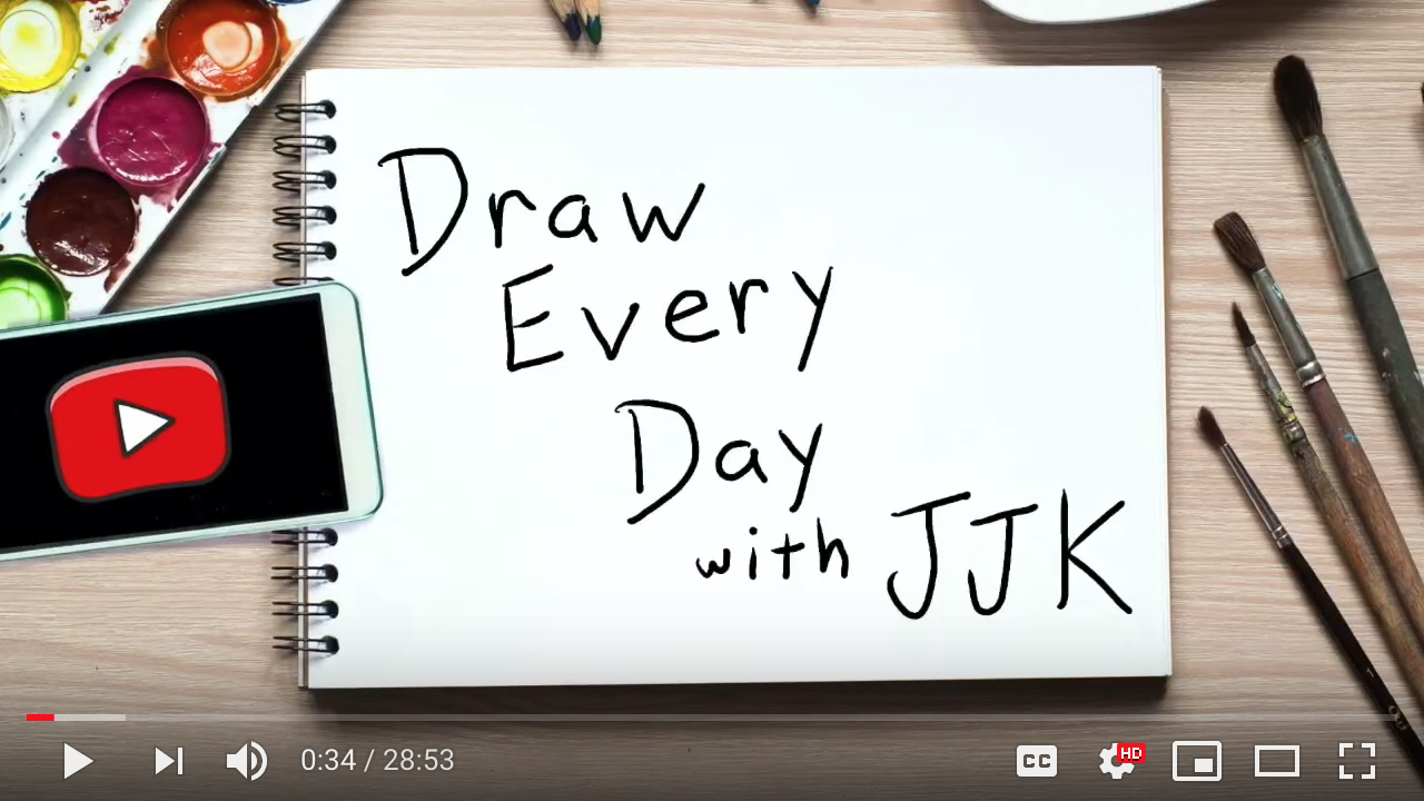 Draw Every Day with Jarrett Krosoczka