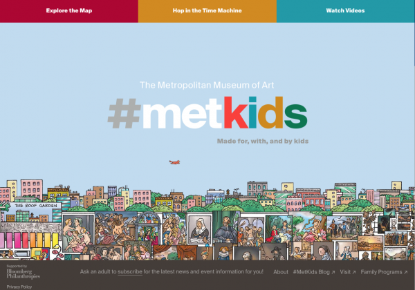 The Metropolitan Museum of Art for kids screenshot